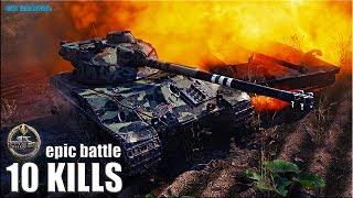 ЗАТАЩИЛ БОЙ без СНАРЯДОВ 🌟 10 ФРАГОВ 🌟 Bat.-Châtillon 25 t World of Tanks