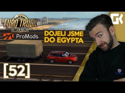 DOJELI JSME DO EGYPTA! | Euro Truck Simulator 2 ProMods & RusMap #52