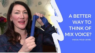 A better way to think of Mix Voice - vocal fold level - #VoiceLadyLizzyRushby