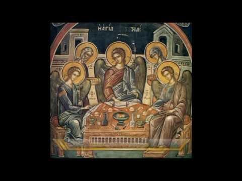 Ύμνοι στην Αγία Τριάδα, ψάλλει ο χορός μοναζουσών της Ιεράς Μονής Αγίου Στεφάνου, Μετεώρων