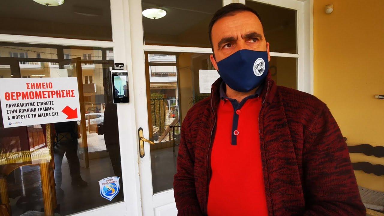 Μηχάνημα προηγμένης τεχνολογίας για τον έλεγχο στην είσοδο του γηροκομείου Ναυπλίου