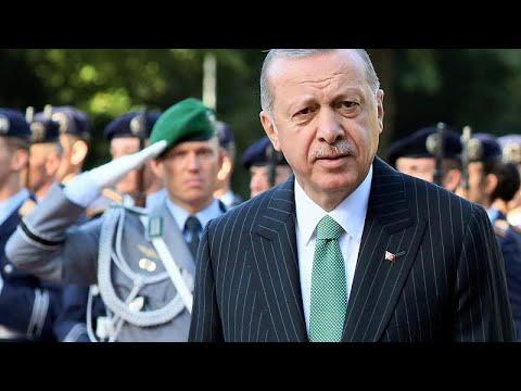 Επεισοδιακή συνέντευξη τύπου Μέρκελ – Ερντογάν στο Βερολίνο…
