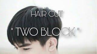 "HAIR CUT ✂️| ""TWO BLOCK | by. HAIR NERDS STUDIO"