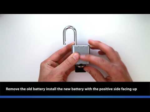 4400D Indoor Padlock: Replace Your Battery