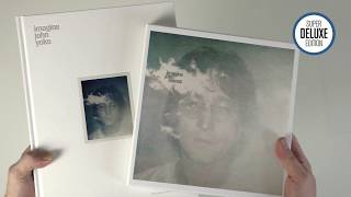 John Lennon / Imagine super deluxe unboxing and book comparison