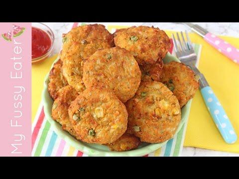 Lentil Veggie Nuggets | Healthy Nuggets for Kids