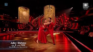 Dancing With The Stars. Taniec Z Gwiazdami 11 - Odcinek 2 - Julia I Stefano (tango)
