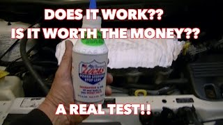 Lucas Power Steering Fluid. Got noise, hard steering etc. 2 day test! Does it work???? Find out!