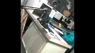 Behind the scenes footage with DJ Thump