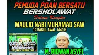 Deen Assalam - Nissa Sabyan || Cover M Ridwan Asyfi - Feat Fatihah Indonesia