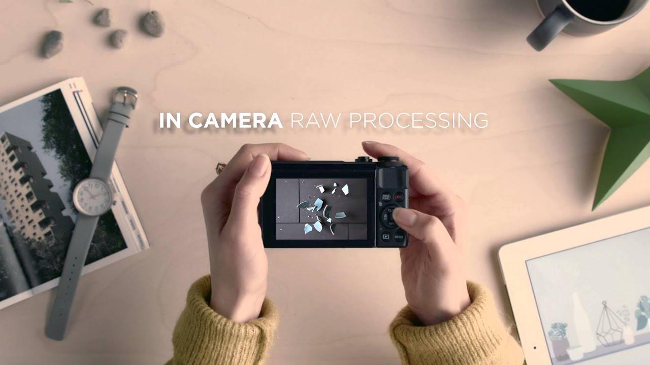 Canon Powershot G7 X Mark II myndavél. Stór 1