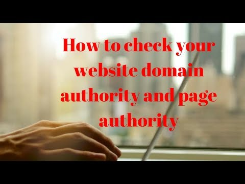 how to check your website domain authority and page authority