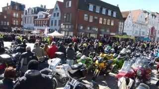 preview picture of video 'Husum Motorradtreff Ostersonntag PLAZA / MOGO 2015-04-05'
