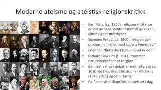 Ateisme, Agnostisisme Og Humanisme