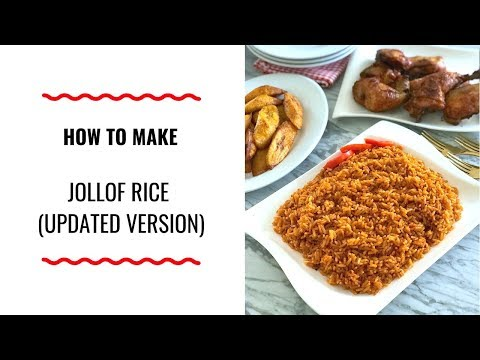 HOW TO MAKE JOLLOF RICE (UPDATED VERSION) – HOLIDAY SERIES – ZEELICIOUS FOODS