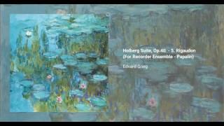 Holberg Suite, Op. 40