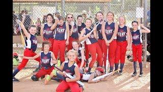 2018 Fairfield Fury 10U Girls Softball Team Movie