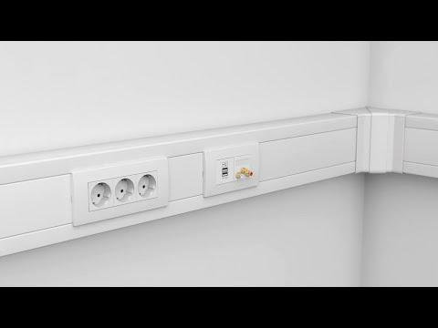 OBO Bettermann: Montagevideo Geräteeinbaukanal Rapid 80