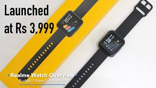 Realme Watch Unboxing & Setup  Smartwatch