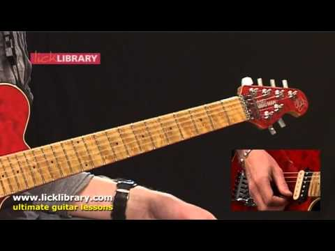 Die To Live - Steve Vai - Guitar Intro Lesson With Jamie Humphries Licklibrary