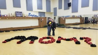 How To Ask An Eaglette To Prom!
