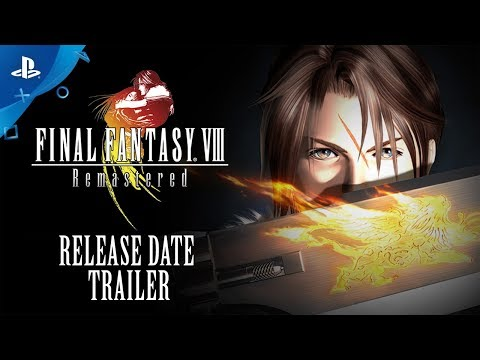 Final Fantasy VIII Remastered - Official Release Date Reveal Trailer | PS4 thumbnail