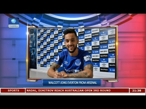 Walcott Joins Everton From Arsenal | Sports Tonight |