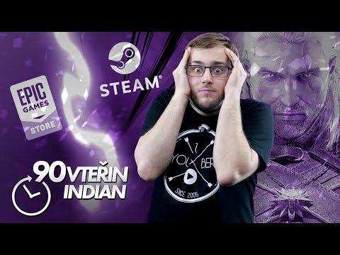 Valve se začíná bát Epic Games - 90VTEŘIN (4. 12. - 10. 12. 2018)