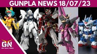Gunpla News: Hi-Res Astray Red Frame, Sinanju Stein, Nami, OO Diver, Love Phantom, Zeromaru