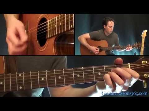 Crazy On You Guitar Lesson Pt.2 - Heart - Acoustic Rhythms