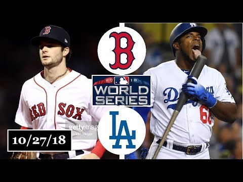 Boston Red Sox vs Los Angeles Dodgers Highlights || World Series Game 4 || October 27, 2018