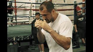 Сергей Ковалев. Тренировка . Kovalev (Krusher) training.