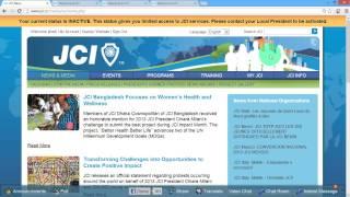 preview picture of video 'JCI OLM Khemisset : comment s'inscrire sur www.jci.cc'