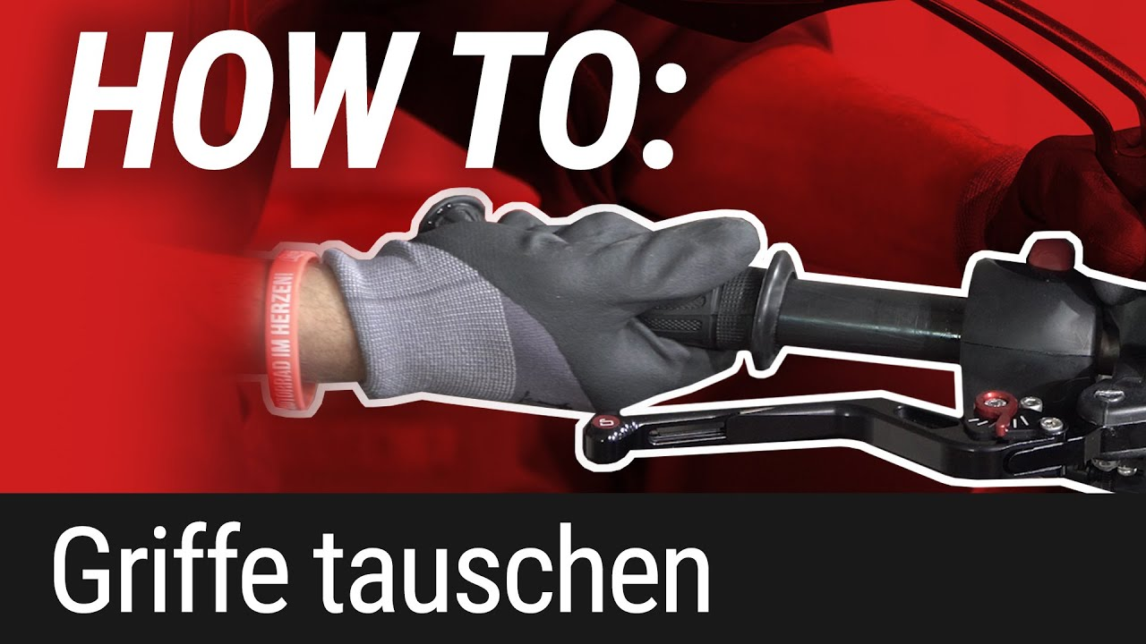 HOW TO: Lenkergriffe wechseln