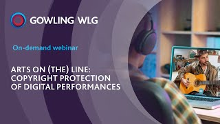 Arts on the Line: Copyright protection | Webinar