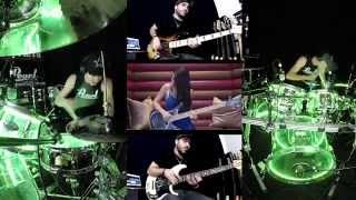 David Guetta   Dangerous   Drum Cover (Drum View) (Bass Cover Ft. Anna Sentina & Miki Santamaria)