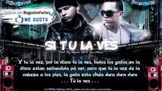 Farruko Ft. Michael - 'Si Tu la Ves' con Letra ★New Reggaeton 2012★