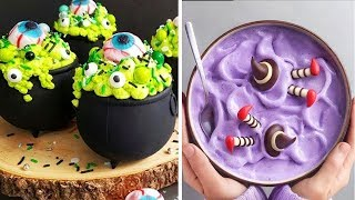 Quick And Easy Halloween Desert Ideas | Top 25 Halloween Cake Decorating Tutorials Video