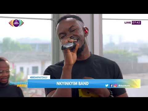 Nkyinkyim performs some sweet Ghanaian tunes on Breakfast Daily | Citi Tube