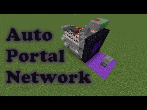 Nether Portal Travel System