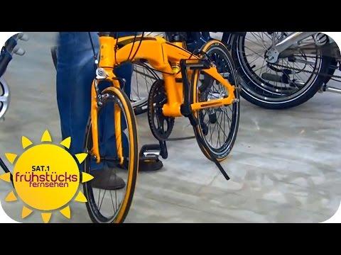 Trend: Faltrad | SAT.1 Frühstücksfernsehen