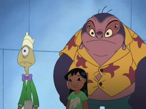 Lilo and Stitch S02E02 Frenchfry