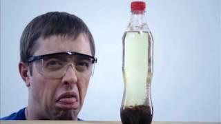 Смотреть онлайн Газированный напиток и молоко