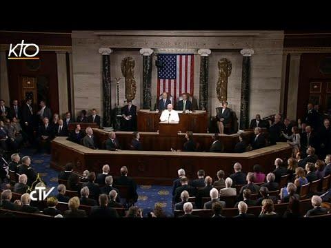 Discours du pape François devant le Congrès américain