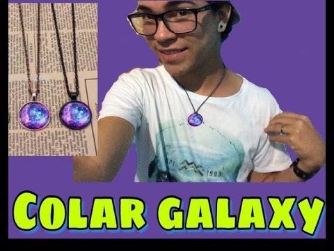 Colar Galaxy - 2 tipos