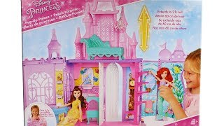 Disney Princess Pop Up Palace Unboxing Toy Review