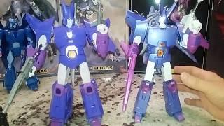 Fanstoys Copied X-Transbots Quietus VS Eligos Comparison