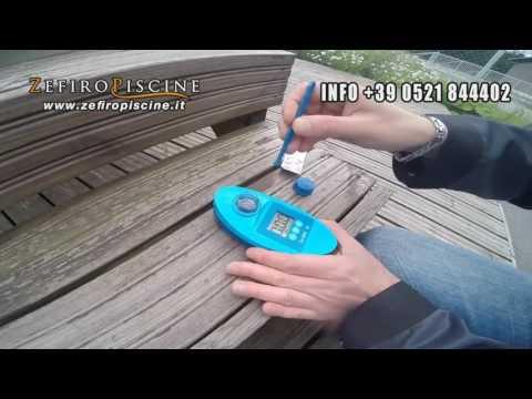 Fotometro Elettronico Lovibond Scuba II Analisi Ph - Cloro - Alcalinità - Durezza Acqua Piscina