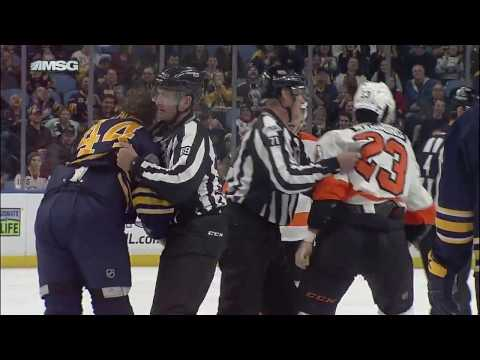 Gotta See It: Deslauriers & Manning drop gloves
