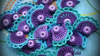 Мотивы Крючком - Ирландское Кружево - 2018 / Crochet Motifs - Irish Lace / Crochet Motive